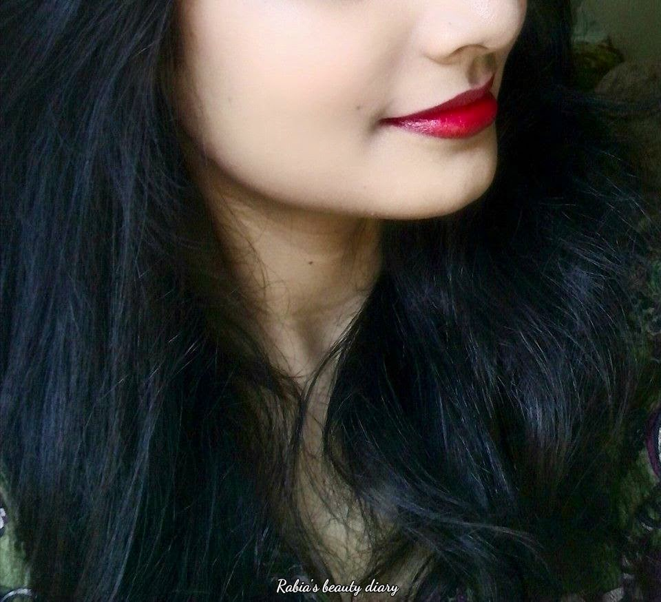 Rabias Beauty Diary Review Wet N Wild Megalast Lipstick Lip Cream Amalia Matte Morocco Nude 03 Stoplight Red 911d