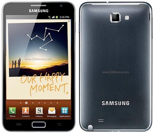Spesifikasi Samsung Galaxy Note N7000