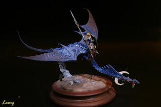 Vista derecha del Dragon Masters de Nick Bibby