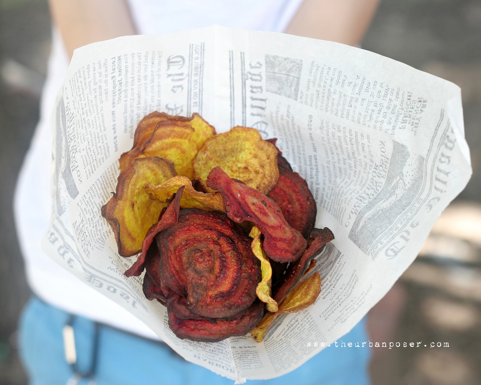 Street Food: Beet Chips With Cashew Tzatziki (REVISED) Vegan, Paleo ...