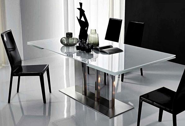 kumpulan gambar meja makan minimalis modern terbaru 2016
