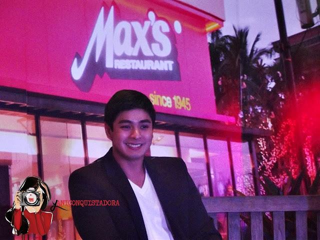 Coco Martin is Max's Restaurant New Brand Ambassador