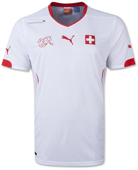 Jersey Swiss Home Piala Dunia 2014 - Jual Jersey Grade Ori