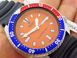 SEIKO DIVER 6309 7290 ORANGE DIAL - PEPSI BEZEL - AUTOMATIC