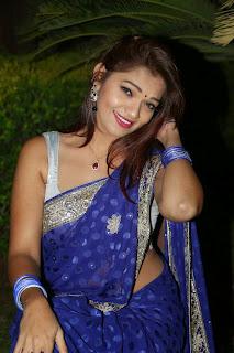 Actress Ashwi  Pictures in Saree at AIINA Women Awards 2014 Curtain Raiser  10