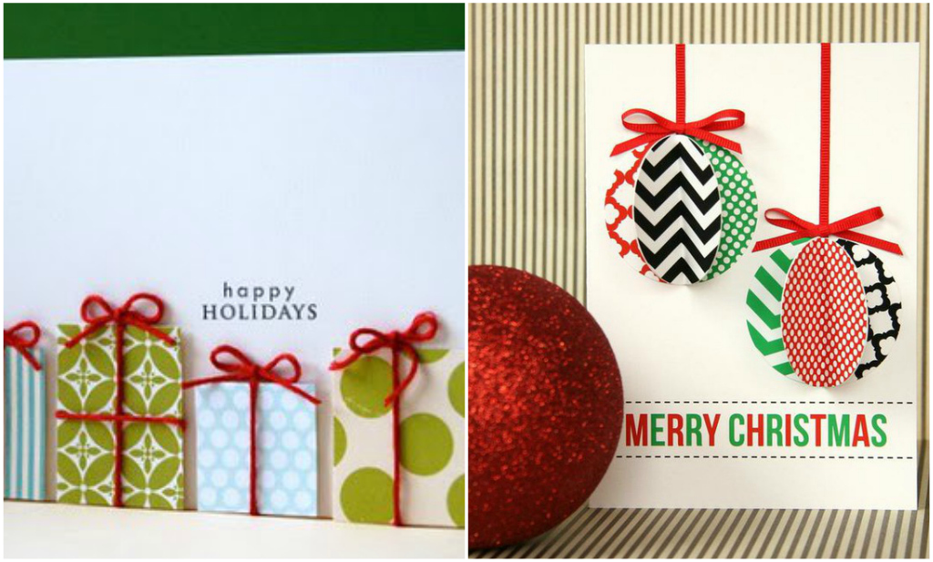 Christmas card pinterest holliday decorations for Pinterest diy christmas cards