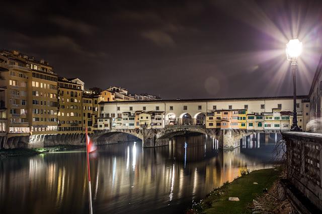 Ponte Vecchio :: Canon EOS5D MkIII | ISO100 | Canon 17-40@39mm | f/13 | 30s