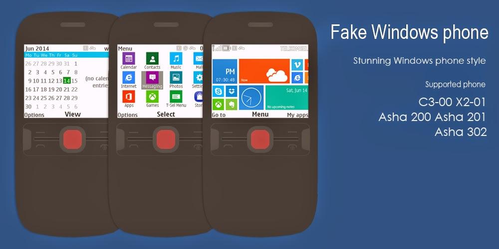 Tema Windows Phone Untuk Nokia 320x240