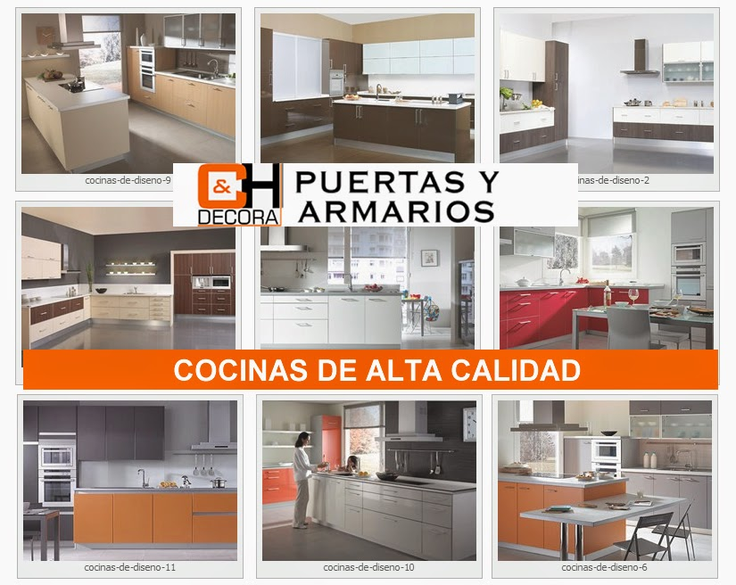 Cocinas de alta calidad en madrid ch decora puertas - Fabrica de puertas en madrid ...
