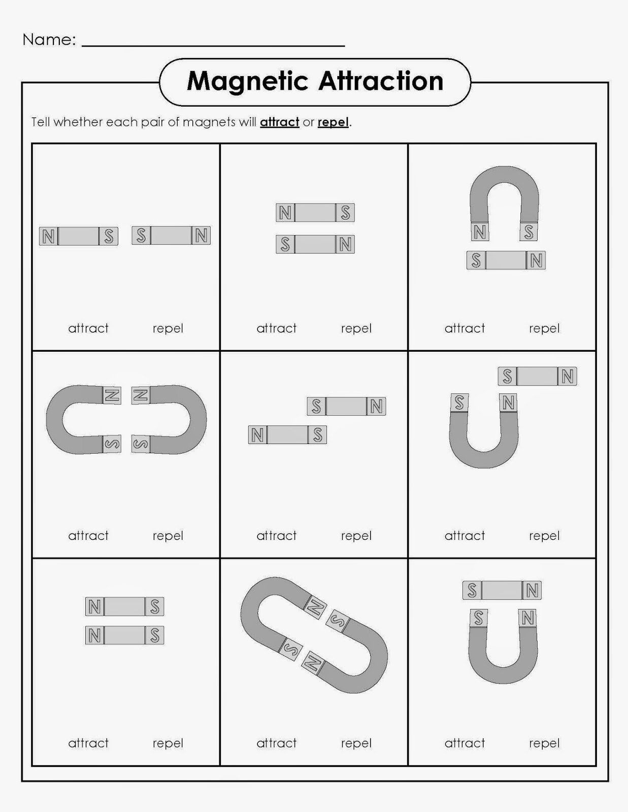 Electromagnetism Worksheet Sharebrowse – Magnet Worksheet