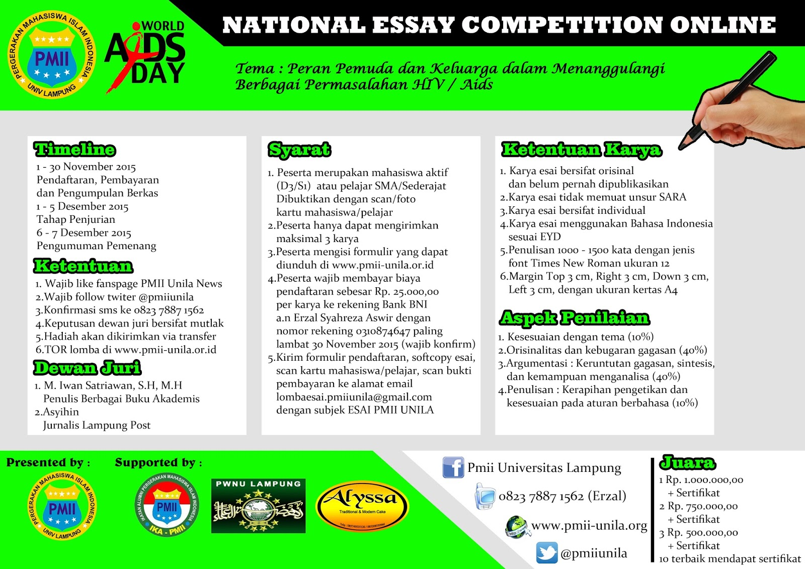 online essay competitions 2012 The annual student essay competition for 2012/13 has been announced for all students within the school of economics, uea.