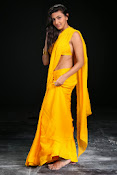 Neelam Upadhyay photos in Yellow saree from Action-thumbnail-14