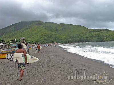 Surfers at Pundakit Zambales