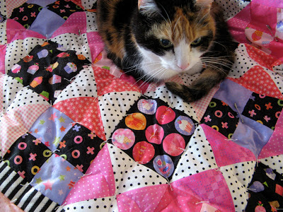 Quilt made with Little Lady by Holly Holderman for Lakehouse Dry Goods