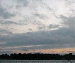 Sunset on Winona Lake