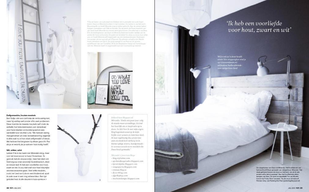 Slaapkamer Woonideeen : Binti Home Blog: Binnenkijker in de 101 ...