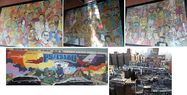 Murales y graffittis en la ciudad