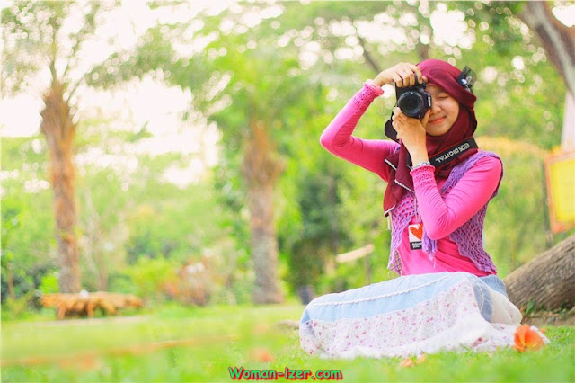 Anisah, Mahasiswi Stikes Cantik Berjilbab Nyari Pacar