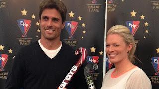 HOCKEY HIERBA - Pol Amat y Nikki Symmons entran en el EHF Hall of Fame