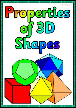 3d Shapes And Properties 3d Puzzle Image