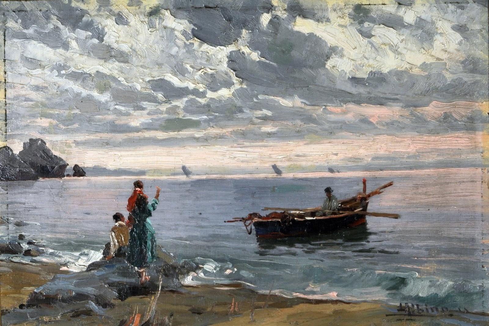 Albino Luca Marina con barca