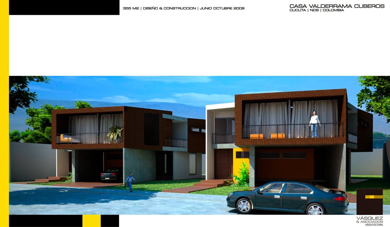Vasquez y asociados arquitectura ltda 2 casas for Genesis arquitectura y diseno ltda