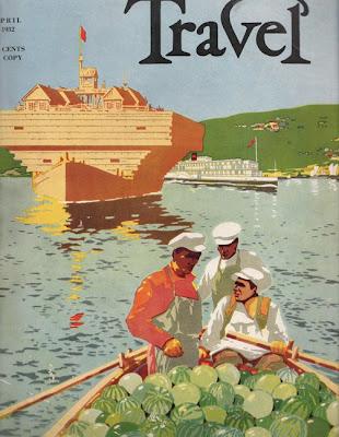 1932 Cartel Soviético de Turismo, Crucero por el Volga