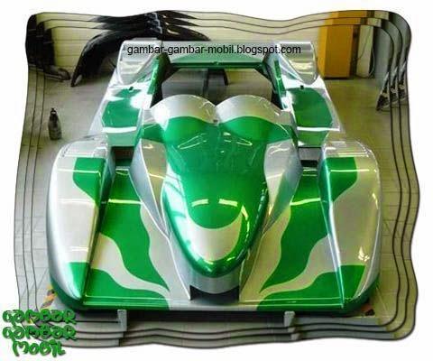Gambar mobil balap unik