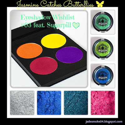 Eyeshadow Wishlist #03 feat. Sugarpill