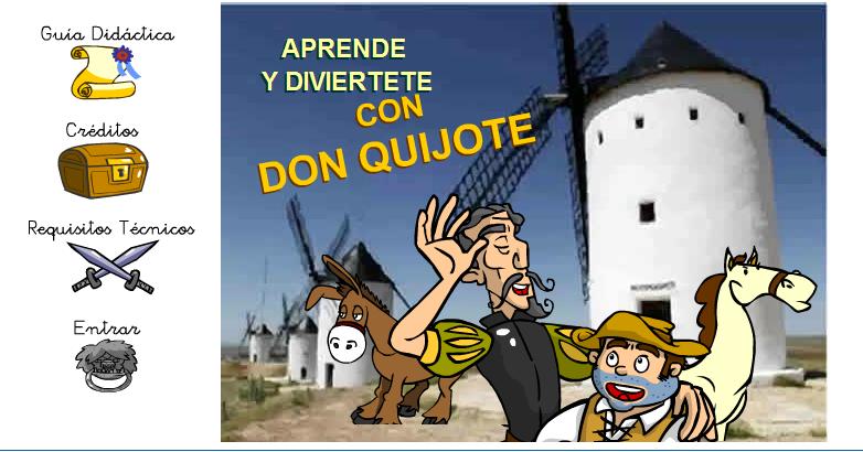 http://ntic.educacion.es/w3//recursos/infantil/aprende_diviertete_quijote/index.html