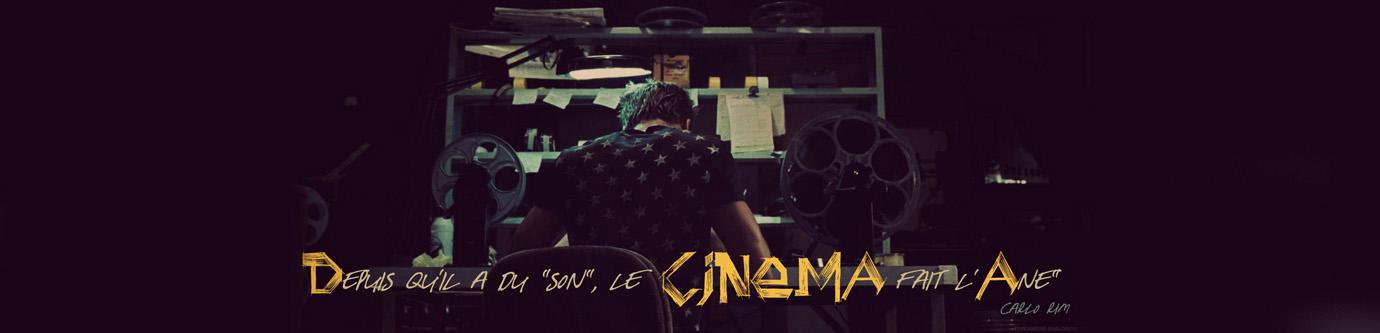 """Depuis qu'il a du """"son"""", le cinéma fait l'âne."""