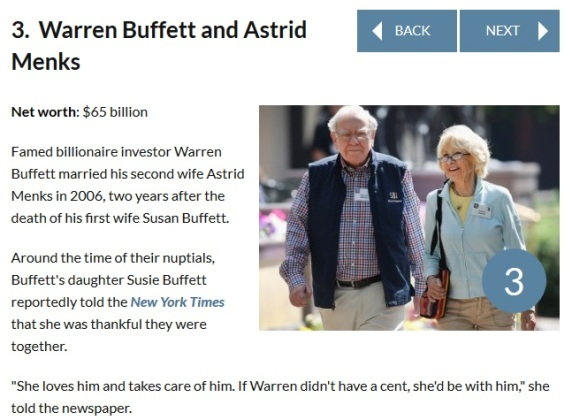 Wealthiest couples in the world