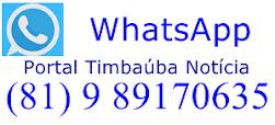 Mande Fotos, Vídeos e Notícias para o Nosso WhatsApp