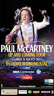 El Beatle McCartney en Lima