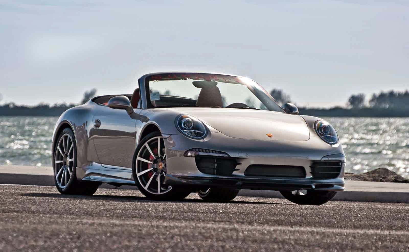 Porsche 911 Carrera S Caught Testing