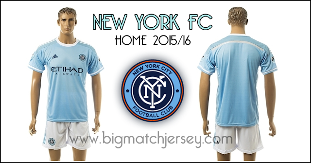 Adidas NYCFC New York City FC Home Jersey 2016