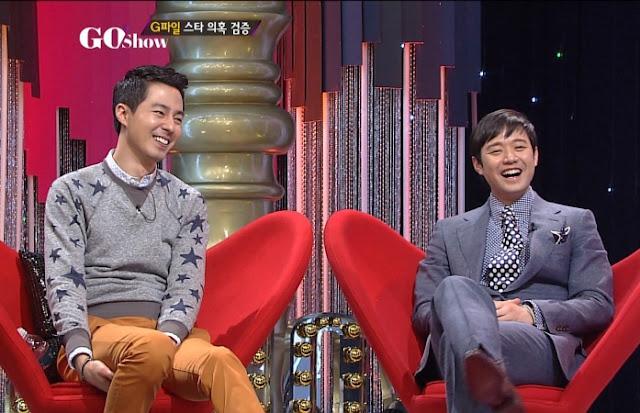 GO Show, Zo In Sung, Chun Jung Myung, Yoon Jong Shin, Jung Hyung Don, Kim Young Chul