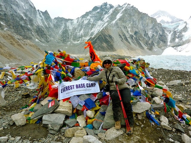Holiday Nomad at Everest Base Camp
