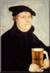 Martin Luther, beer, drinking, stein