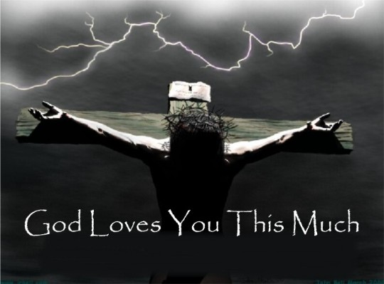 The Lord loves you  Jesus loves you
