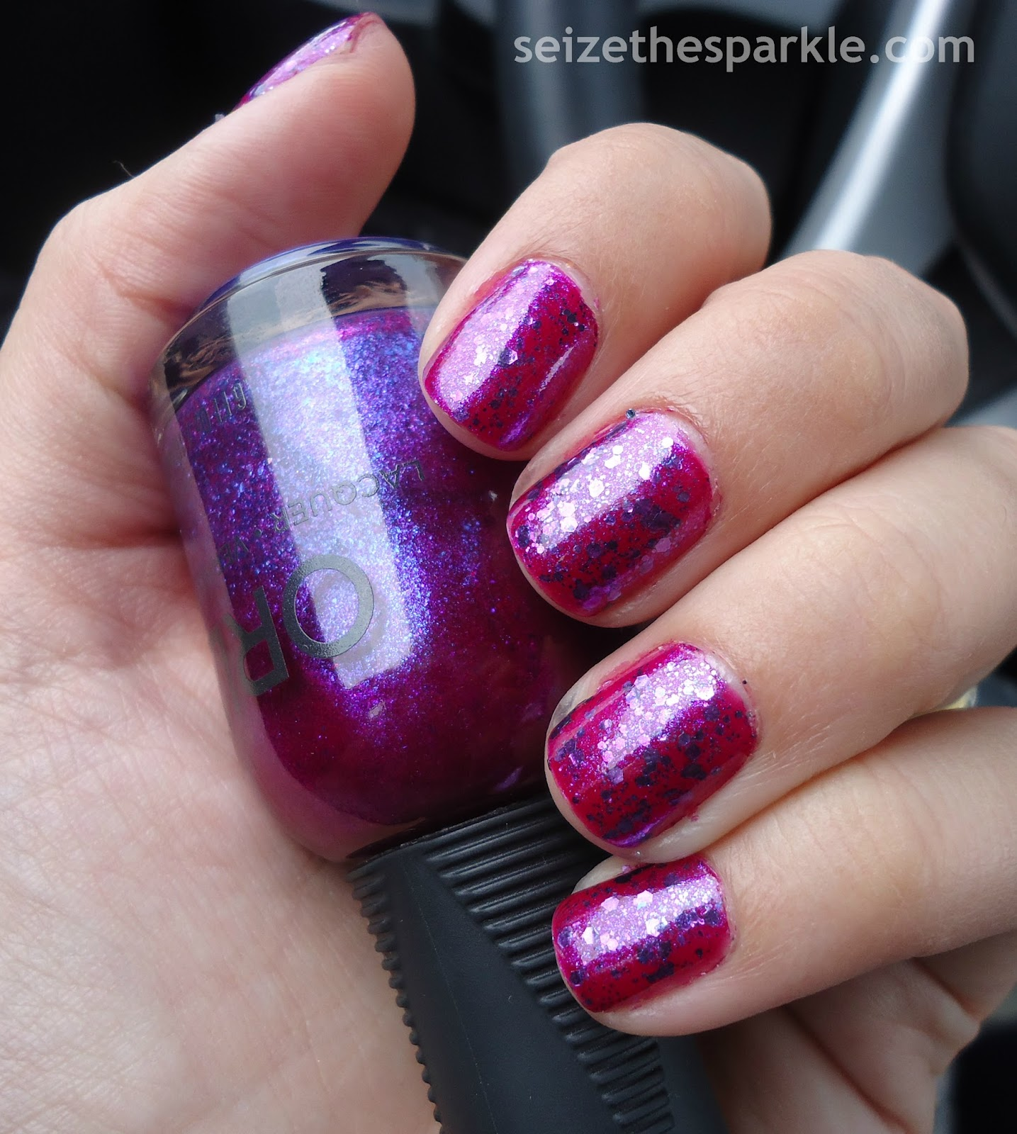 Orly Purple Poodle, SOPI Indi-Go with the Flow