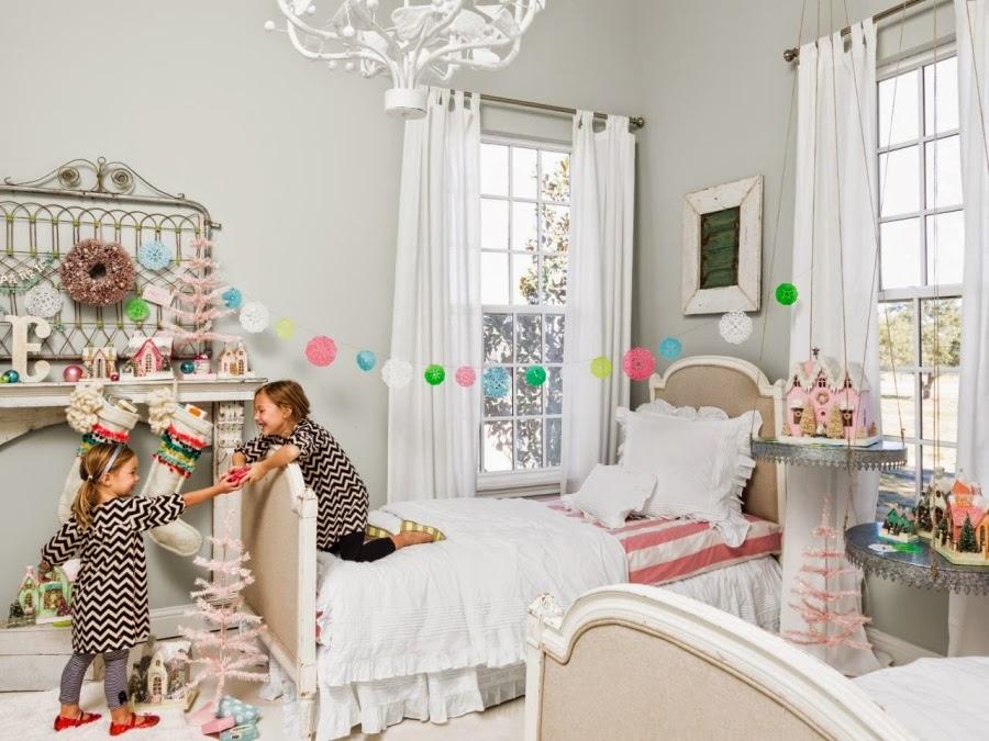wystrój wnętrz, home decor, wnętrza, urządzanie mieszkania, Boże Narodzenie, Święta, ozdoby świąteczne, dekoracje świąteczne, styl vintage, pokój dziecięcy
