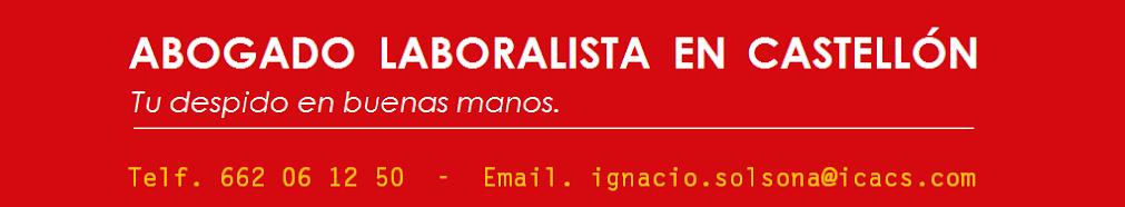 Abogado Despido Castellón