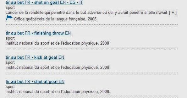 Linguistiquement correct le gdt l heure du mondial de - Dictionnaire office de la langue francaise ...
