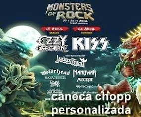 "Caneca Personalizada ""Monsters Of Rock 2015"""