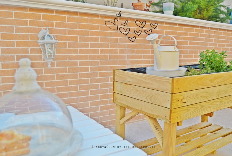 Patio News & Fai da te [ La fioriera delle Aromatiche ]- shabby&countrylife.blogspot.it