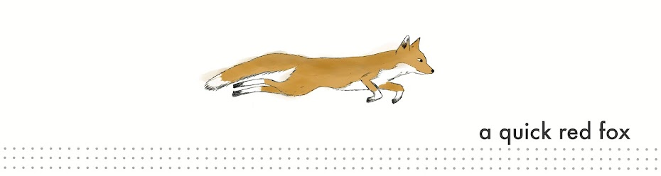 a quick red fox