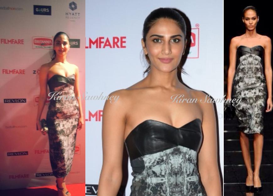 Vaani Kapoor at Filmfare nominations Party 2015 in Hugo Boss