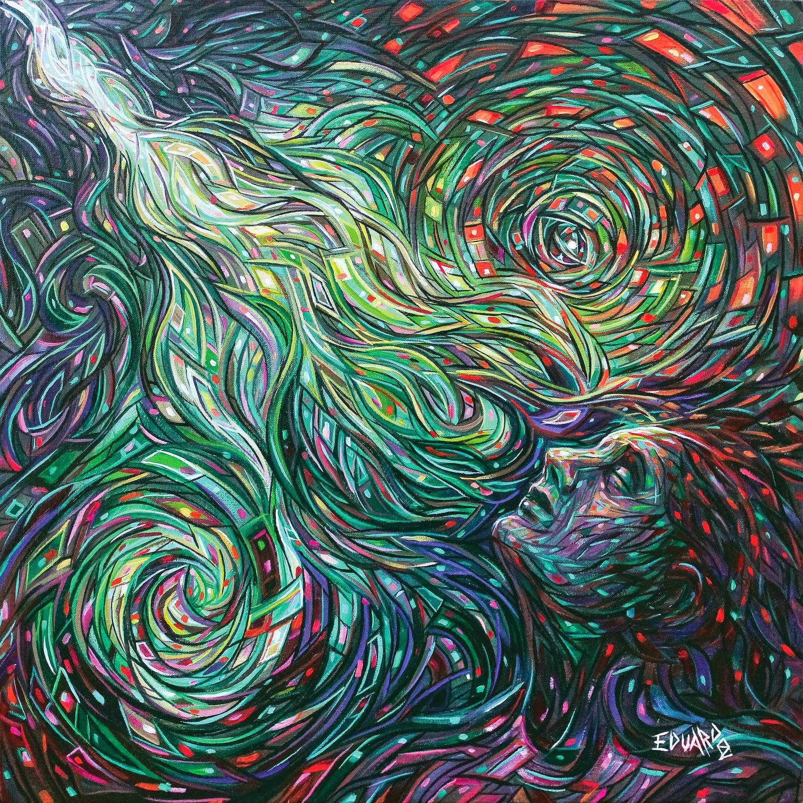 13-Mental-Image-Eduardo-R-Calzado-Paintings-in-Swirls-of-Colour-www-designstack-co
