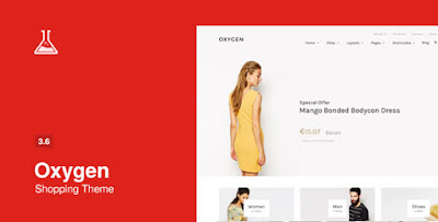 Download Oxygen v3.6.2 WooCommerce WordPress Theme
